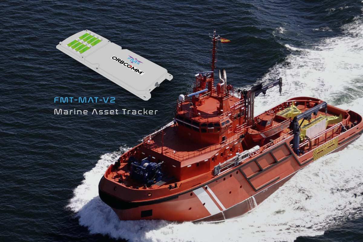 marine asset tracking - Orbcomm IDP-800 key benefits