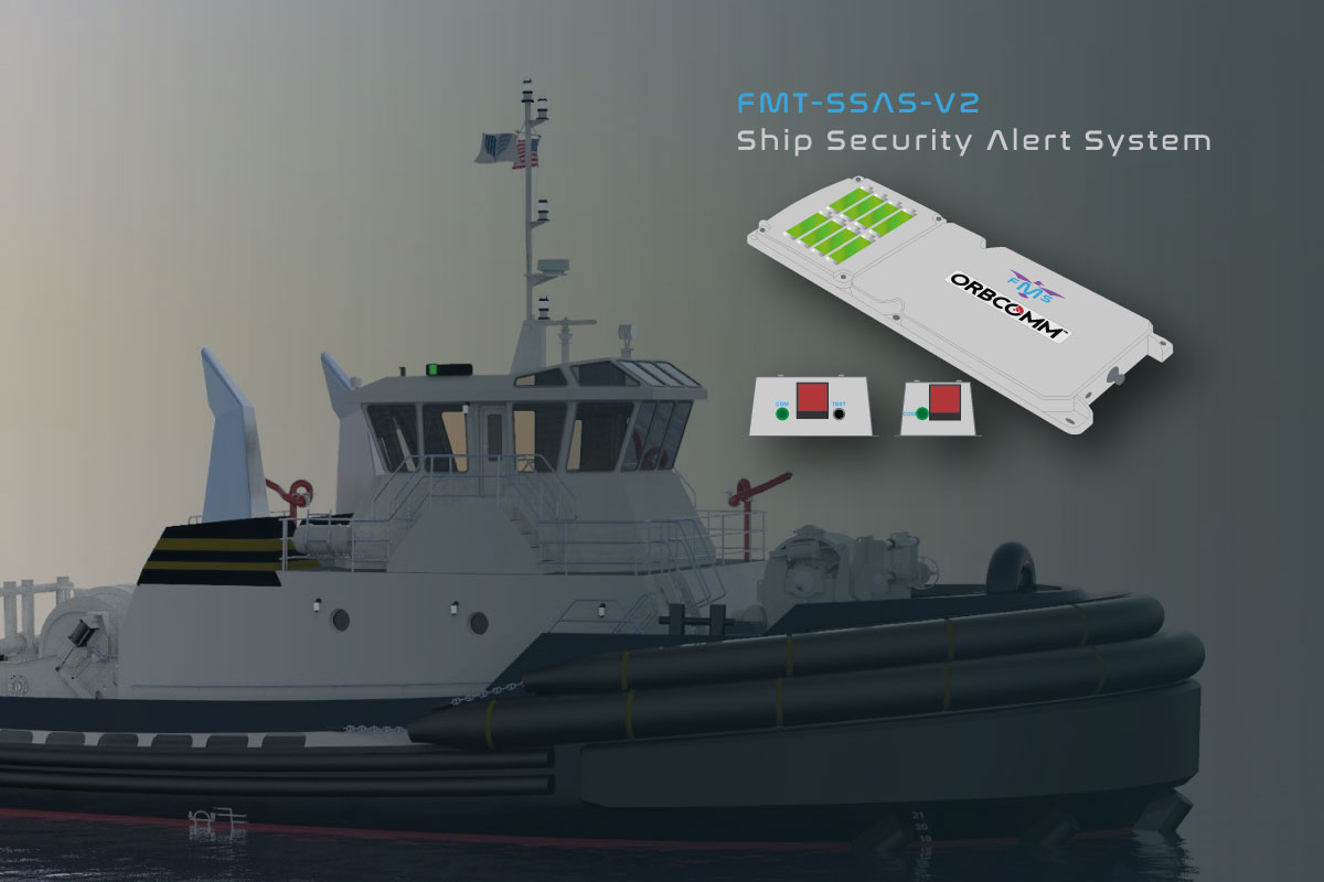 ship security alarm system - Orbcomm IDP-800 key benefits