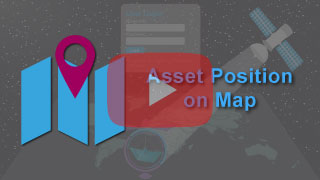 Asset position on map in falcon mega track