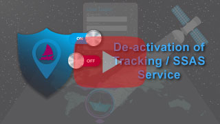 deactivation of tracking service or SSAS service in falcon mega track