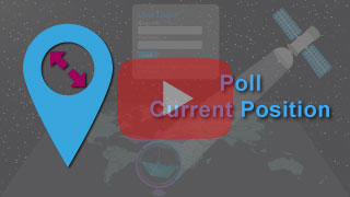 poll current position in falcon mega track