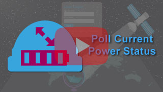 poll current power status in falcon mega track