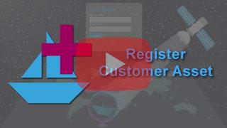 register customer vessel in falcon mega track