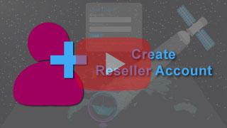 create re-seller account in falcon mega track