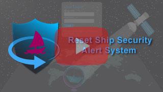 reset ship security alert system in falcon mega track