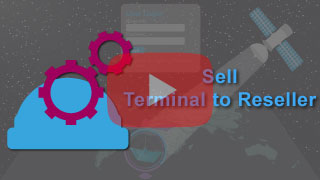 sell terminal to re-seller in falcon mega track
