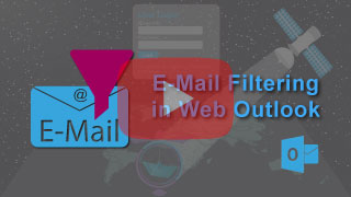 sat v-mail creation and settings in falcon mega track