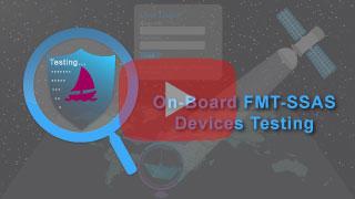ship security alert system testing in falcon mega track