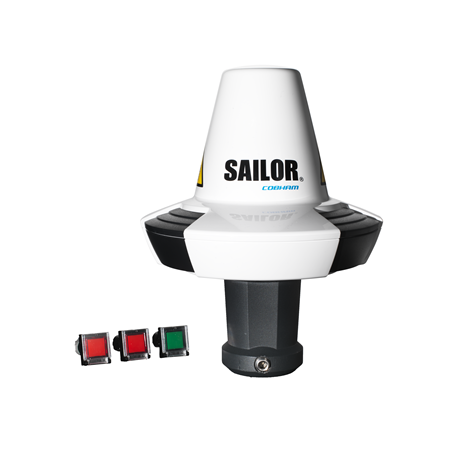 Our Ship Security Alert System (SSAS) supports third-party terminals Cobhom Sailor 6120