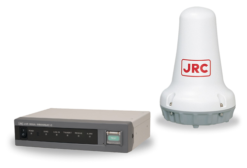 Our Ship Security Alert System (SSAS) supports third-party terminals JRC JUE - 95SA