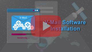 v-mail installation in falcon mega track