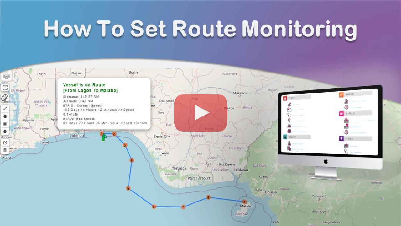 Route Monitoring Falcon Mega Track