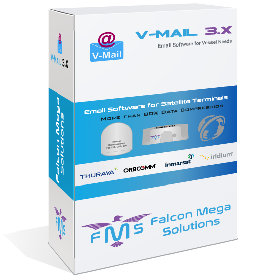 Email Software for Satellite Terminals